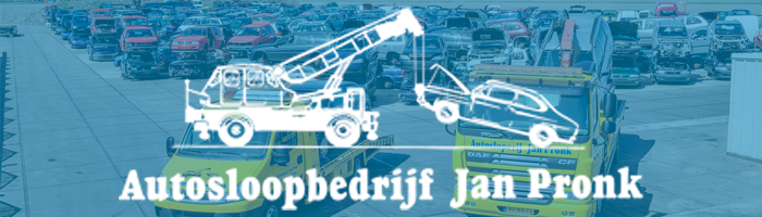Teamsponsor Autosloopbedrijf Jan Pronk