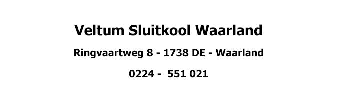 Teamsponsor Veltum Sluitkool