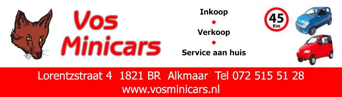 Teamsponsor Vos Minicars